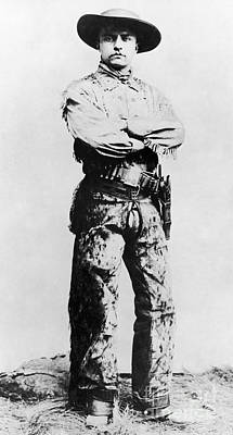 Theodore Roosevelt Print by Granger