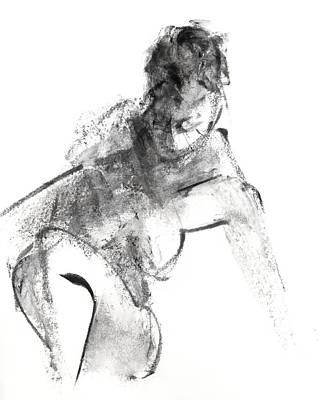 Pencil Drawing - Rcnpaintings.com by Chris N Rohrbach
