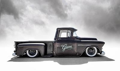Photograph - '55 Chevy Pickup by Douglas Pittman