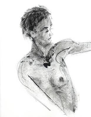 Drawing - Rcnpaintings.com by Chris N Rohrbach
