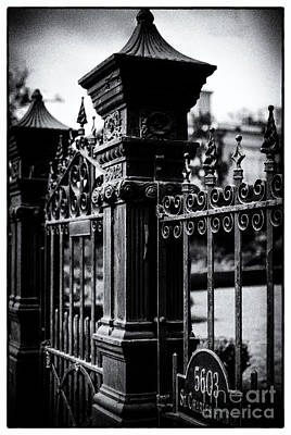 St Charles Avenue Photograph - 5603 St. Charles Ave- Nola- Noir by Kathleen K Parker