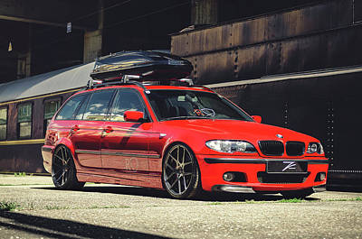 Car Photograph - E46 by Cristian Todea