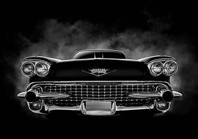 Digital Art - 58 Caddy by Douglas Pittman