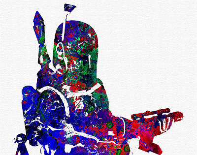 Stormtrooper Digital Art - Star Wars by Elena Kosvincheva