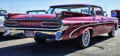 1959 Pontiac Bonneville Photograph - 59 Pontiac Bonneville by Steven Parker