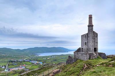 Engine House Photograph - Allihies - Ireland by Joana Kruse