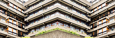 Apartment Building Print by Tom Gowanlock