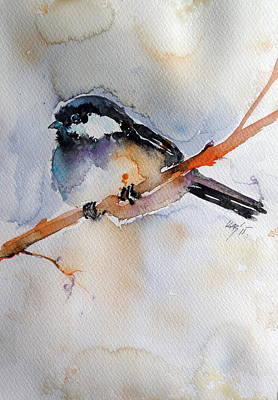 Titmouse Painting - Bird by Kovacs Anna Brigitta
