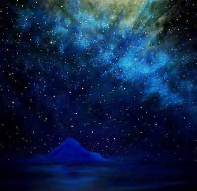 Painting - Cosmic Light Series by Len Sodenkamp