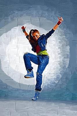 Michael Digital Art - Dance How To by Michael Vicin