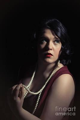 Necklace Photograph - Hollywood Glamour by Amanda Elwell