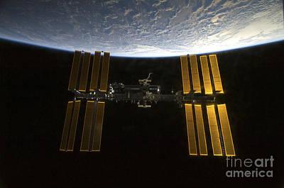 International Space Station Print by Stocktrek Images