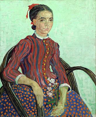 Dutch Painting - La Mousme by Vincent van Gogh