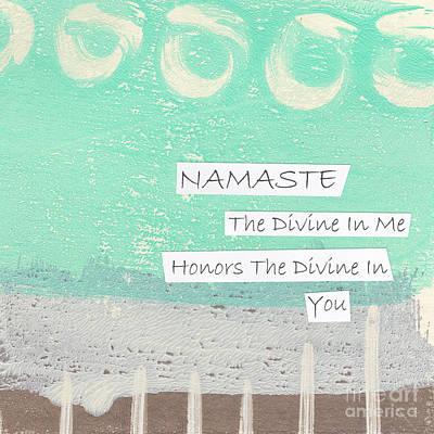 Abstracted Photograph - Namaste by Linda Woods