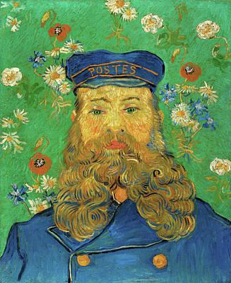 Male Painting - Portrait Of Joseph Roulin by Vincent van Gogh