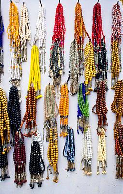 Amulet Photograph - Prayer Beads by Tom Gowanlock