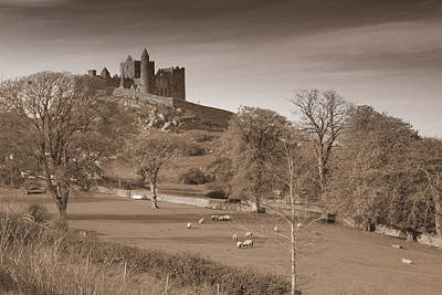 Castle Photograph - Rock Of Cashel by John Quinn