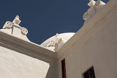 San Xavier Del Bac Mission - Tucson Arizona Print by Jon Berghoff