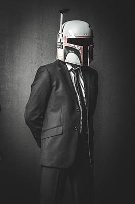 Star Wars Photograph - Star Wars Dressman by Marino Flovent