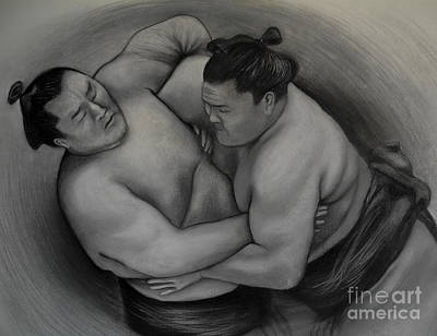 Basic Drawing - Sumo by Gabriela Junosova