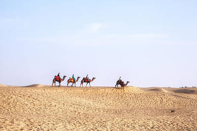 Rajasthan Photograph - Thar Desert - India by Joana Kruse