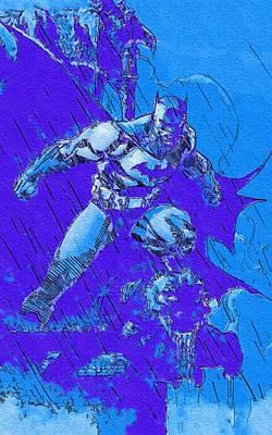 Batman Digital Art - The Joker Batman by Egor Vysockiy