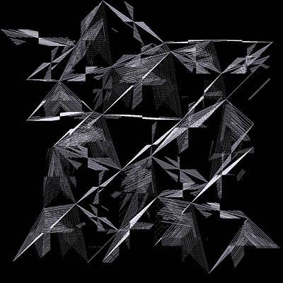 Shadow Digital Art - 6144.2.14 by Gareth Lewis