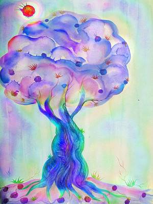 Tree Of Life Digital Art - Tree Of Life by Sandrine Kespi