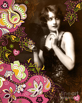 1940s Mixed Media - Goddess by Chris Andruskiewicz