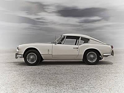 Autos Digital Art - '67 Triumph Gt6 by Douglas Pittman