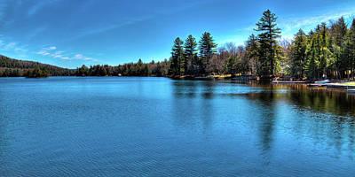 New York Photograph - 6th Lake Panorama by David Patterson