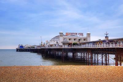 Palace Photograph - Brighton Pier by Joana Kruse