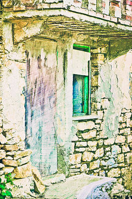 Derelict House Print by Tom Gowanlock
