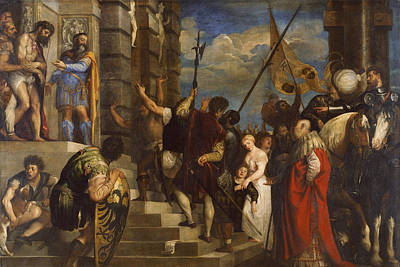 Jesus Painting - Ecce Homo by Titian
