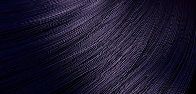 Hair Blowing Closeup Print by Allan Swart