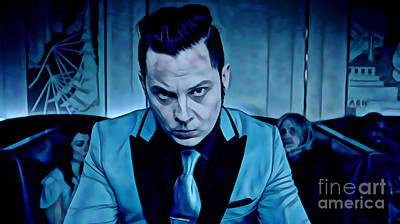 Jack White Collection Print by Marvin Blaine