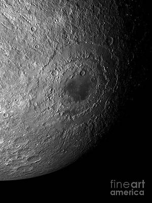 Far Side Photograph - Moons Surface by Detlev van Ravenswaay