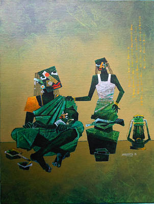 Etc Painting - Mother And Child by Sharath Palimar
