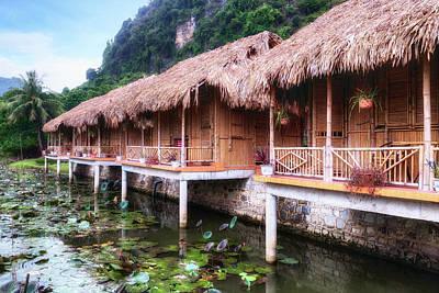 Water Lilly Photograph - Ninh Binh - Vietnam by Joana Kruse