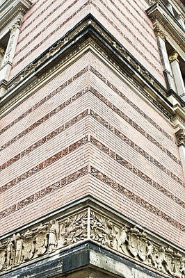 Brick Building Photograph - Red Brick Building by Tom Gowanlock