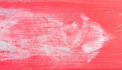 Messy Photograph - Red Wood by Tom Gowanlock