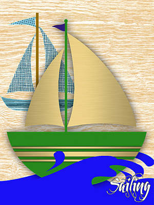 Sailing Collection Print by Marvin Blaine