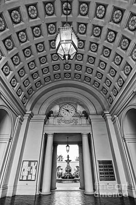 The Beautiful Pasadena City Hall. Print by Jamie Pham