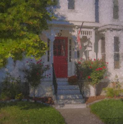 Mcentee Painting - 7 Williams Street by Bill McEntee