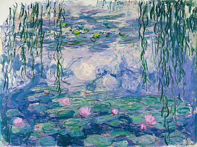 Waterlilies Painting - Water Lilies by Claude Monet