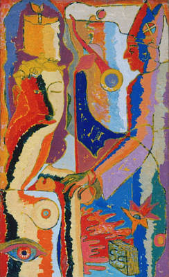 Jamaican Art Painting - 73 by John Powell