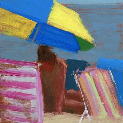 Beach Painting - Rcnpaintings.com by Chris N Rohrbach