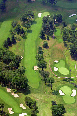 7th Hole Sunnybrook Golf Club 398 Stenton Avenue Plymouth Meeting Pa 19462 1243 Print by Duncan Pearson