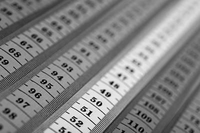 Measuring Tape Print by Boyan Dimitrov
