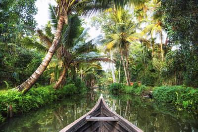 Backwaters Kerala - India Print by Joana Kruse